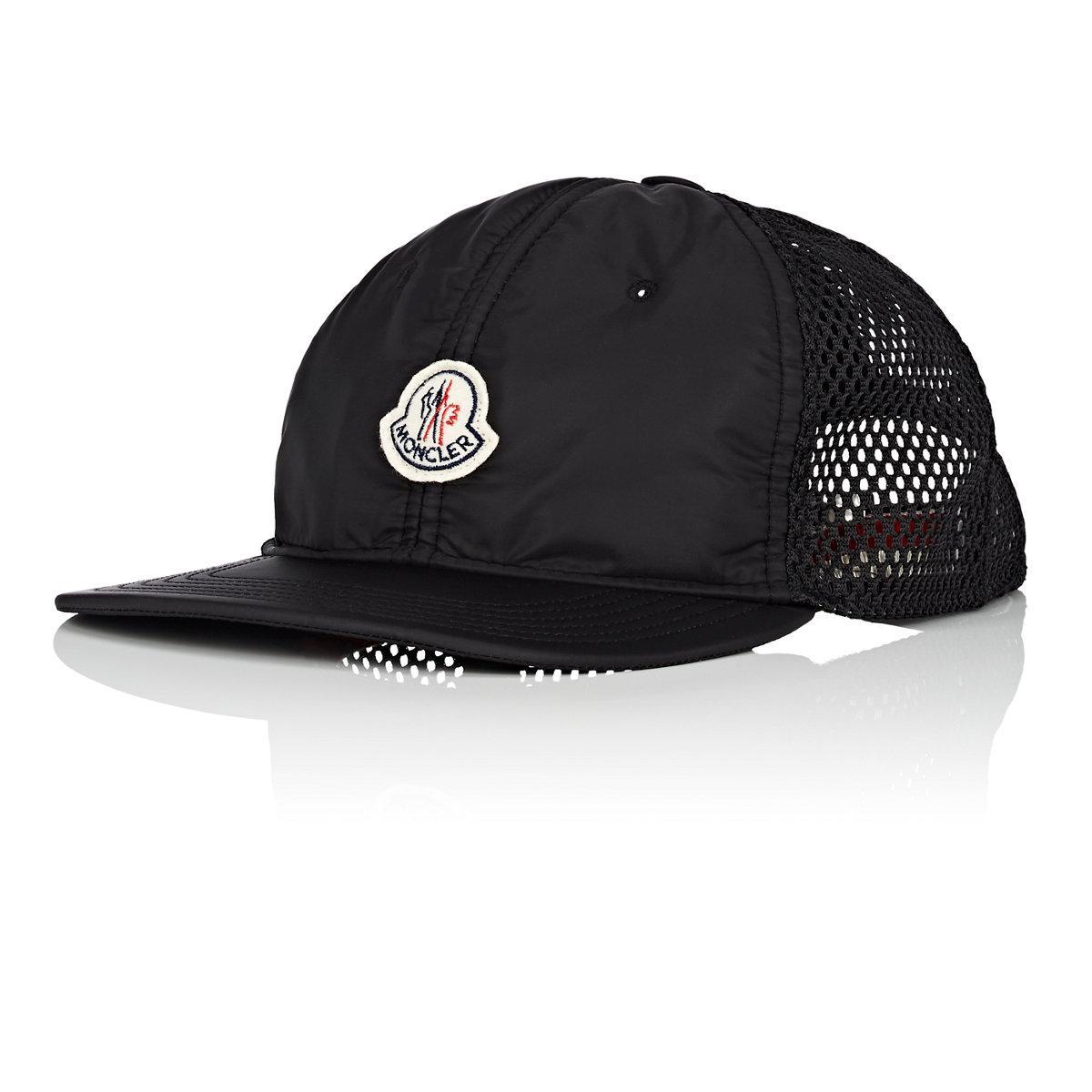 f72cee8b690 Lyst - Moncler Logo Mesh in Black for Men