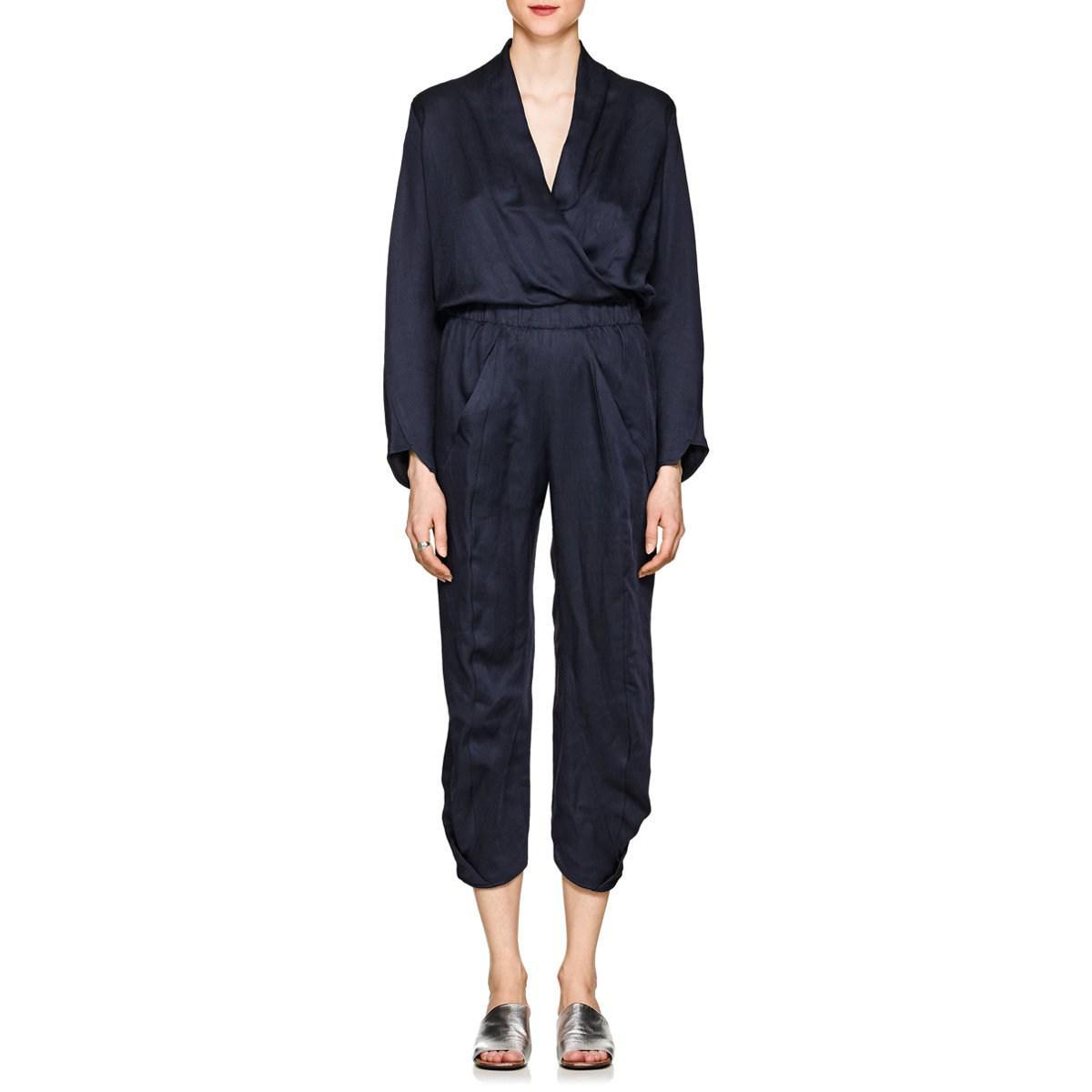 Womens Takeo Twill V-Neck Jumpsuit Zero + Maria Cornejo Buy Cheap Wide Range Of Marketable For Sale Latest Collections  Cheap Free Shipping Footlocker Finishline Cheap Online MegjizNN