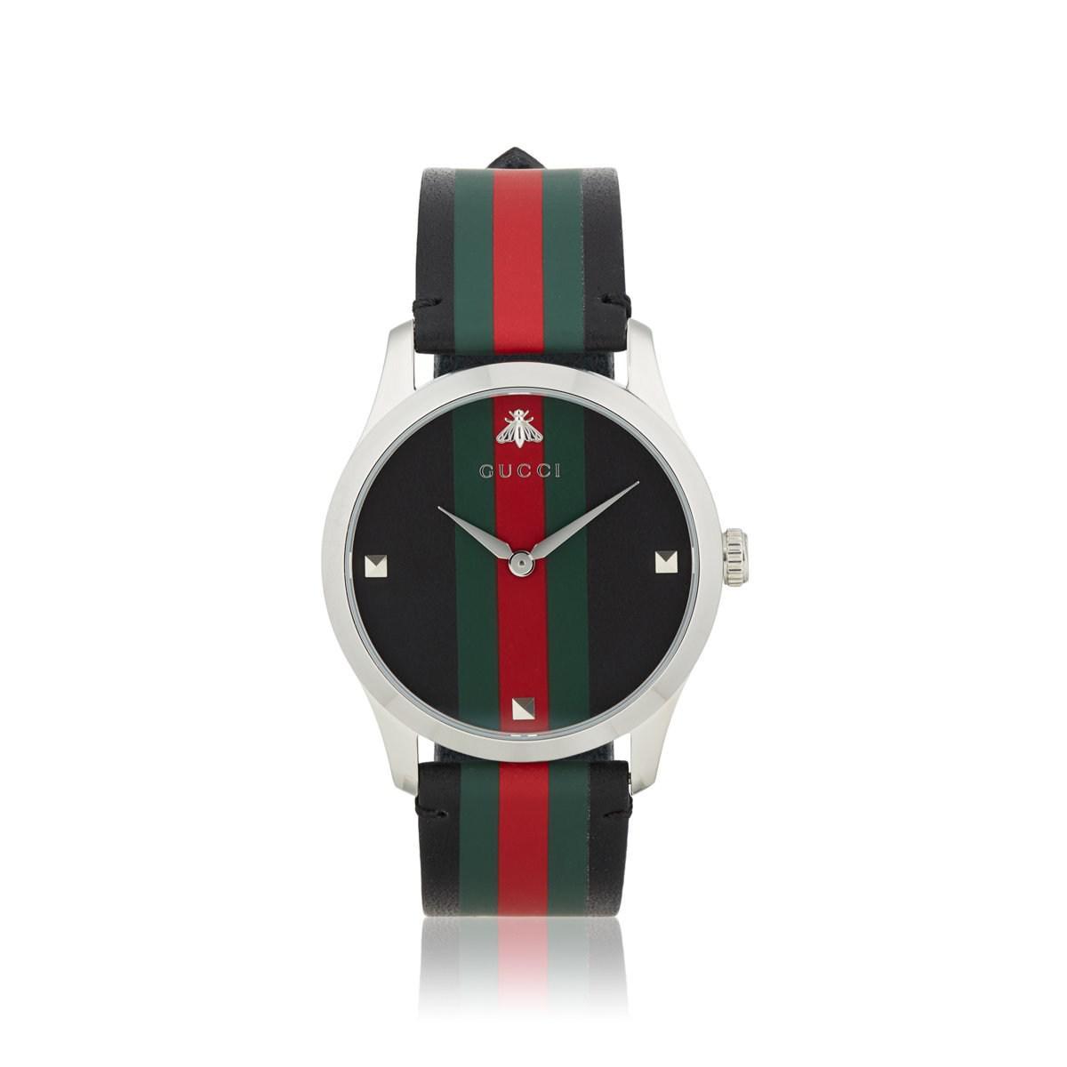 ddd7d472b2e Gucci - Black G-timeless Watch for Men - Lyst. View fullscreen