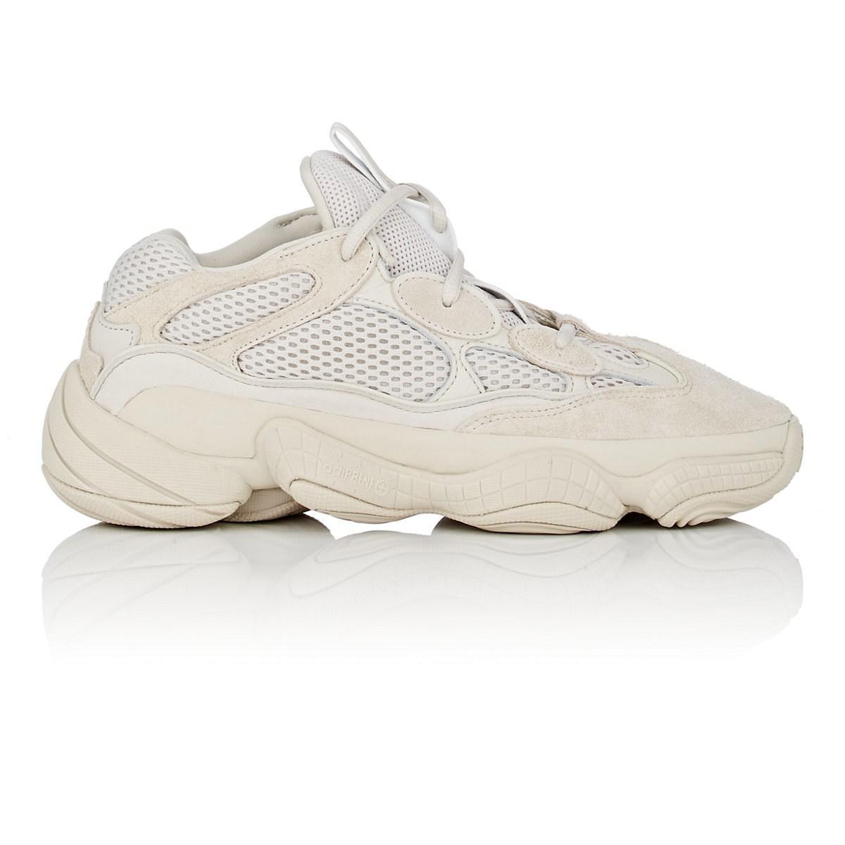 the latest 018b2 c3cf5 Yeezy Yeezy 500 Desert Rat Sneakers in White - Lyst