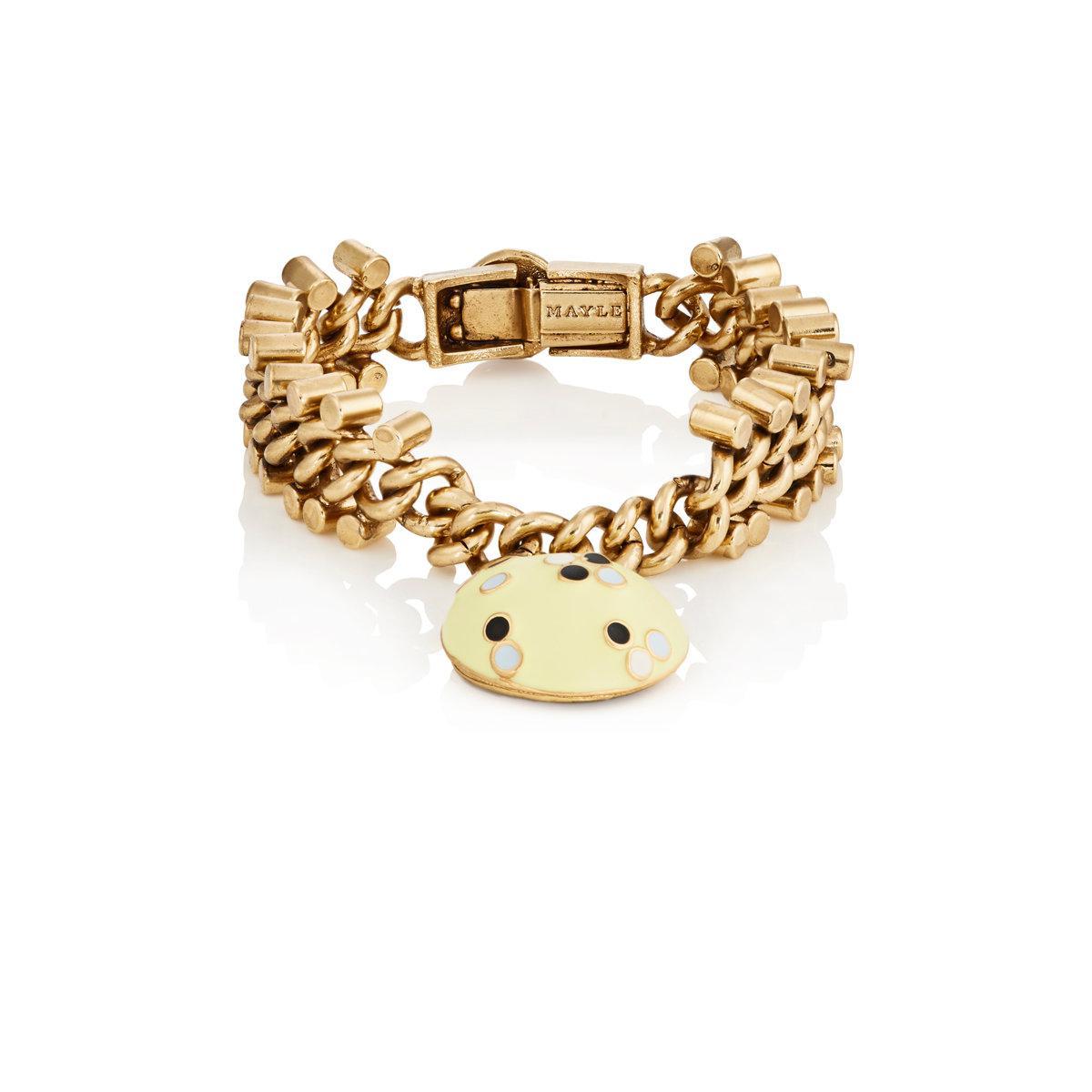 Maison Mayle Womens Siamese Rosette Bracelet YsBZLtK