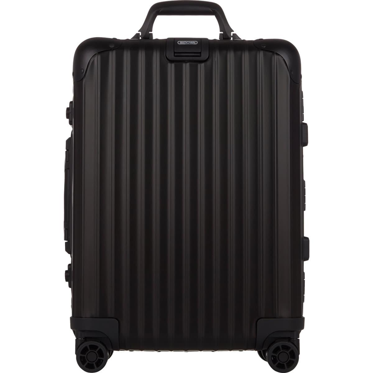 rimowa topas stealth 22 cabin multiwheel iata trolley in black for men save 18 lyst. Black Bedroom Furniture Sets. Home Design Ideas