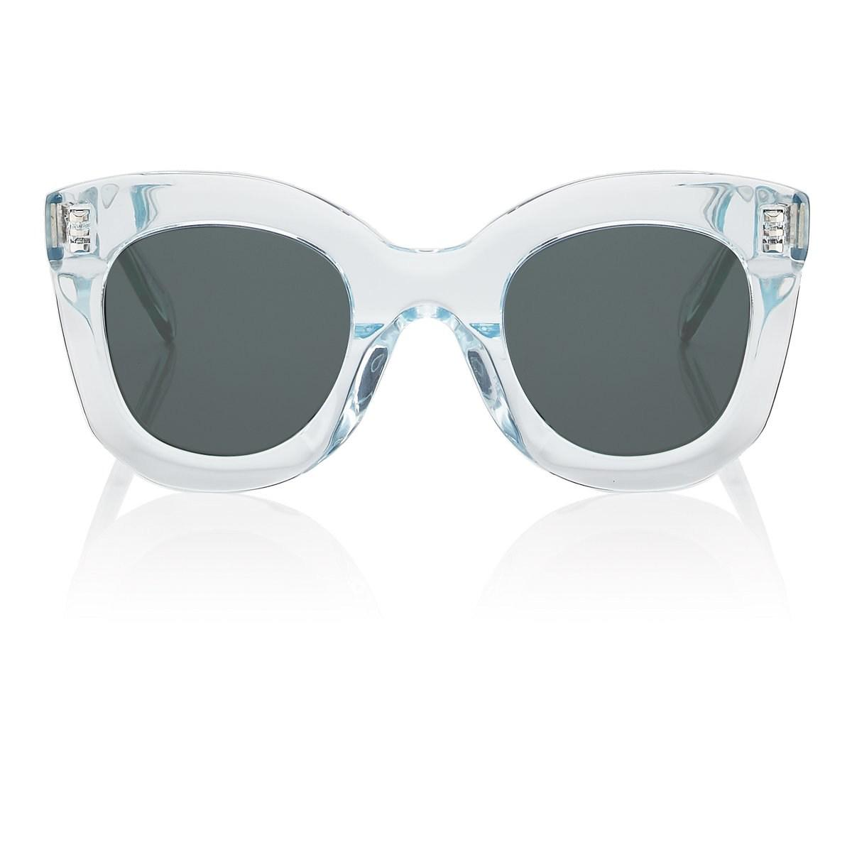 c7e398e0a75c7 Céline Butterfly Sunglasses in Blue - Lyst