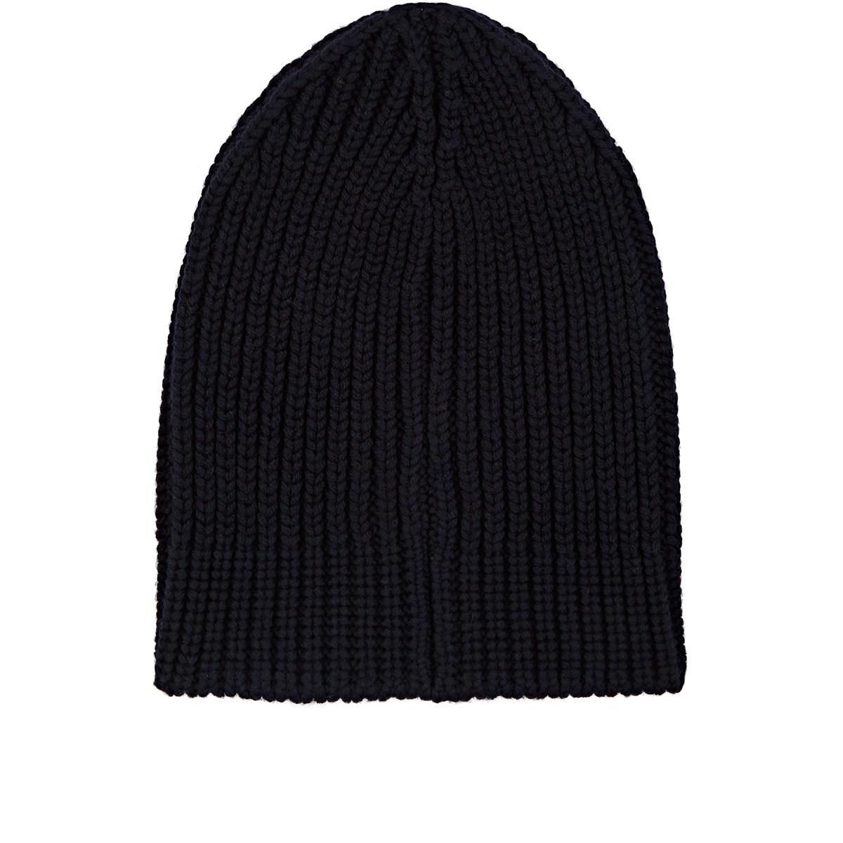 Lyst - Gucci Logo Wool Beanie in Blue for Men - Save 53% 55c16b513f7