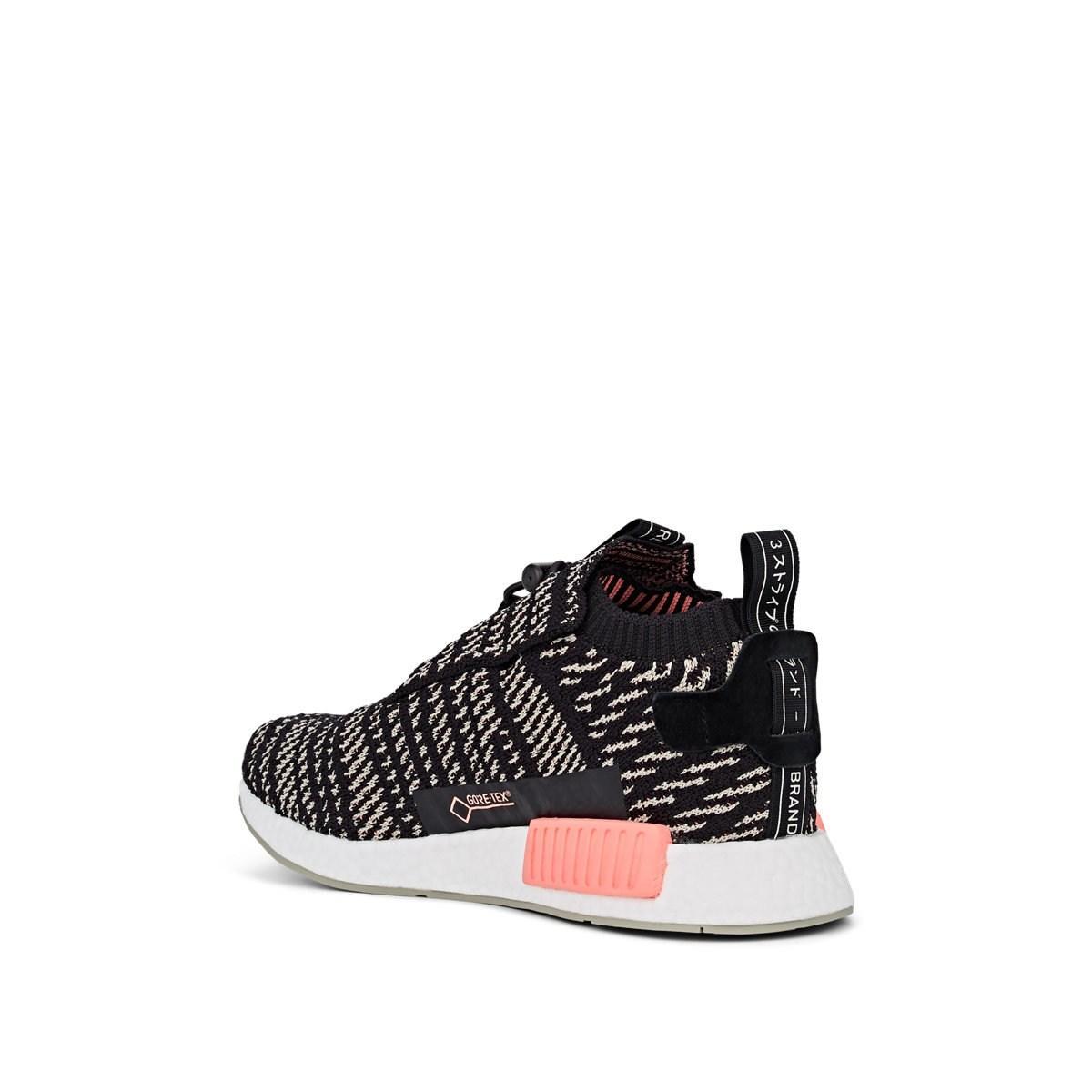 the latest 1e291 c2434 Adidas - Black Nmd Ts1 Pk Gtx Primeknit Sneakers for Men - Lyst. View  fullscreen