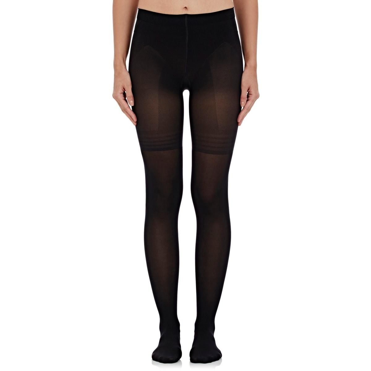 e65ae40615 Wolford - Black Power Shape 50 Control Top Tights Size M - Lyst. View  fullscreen