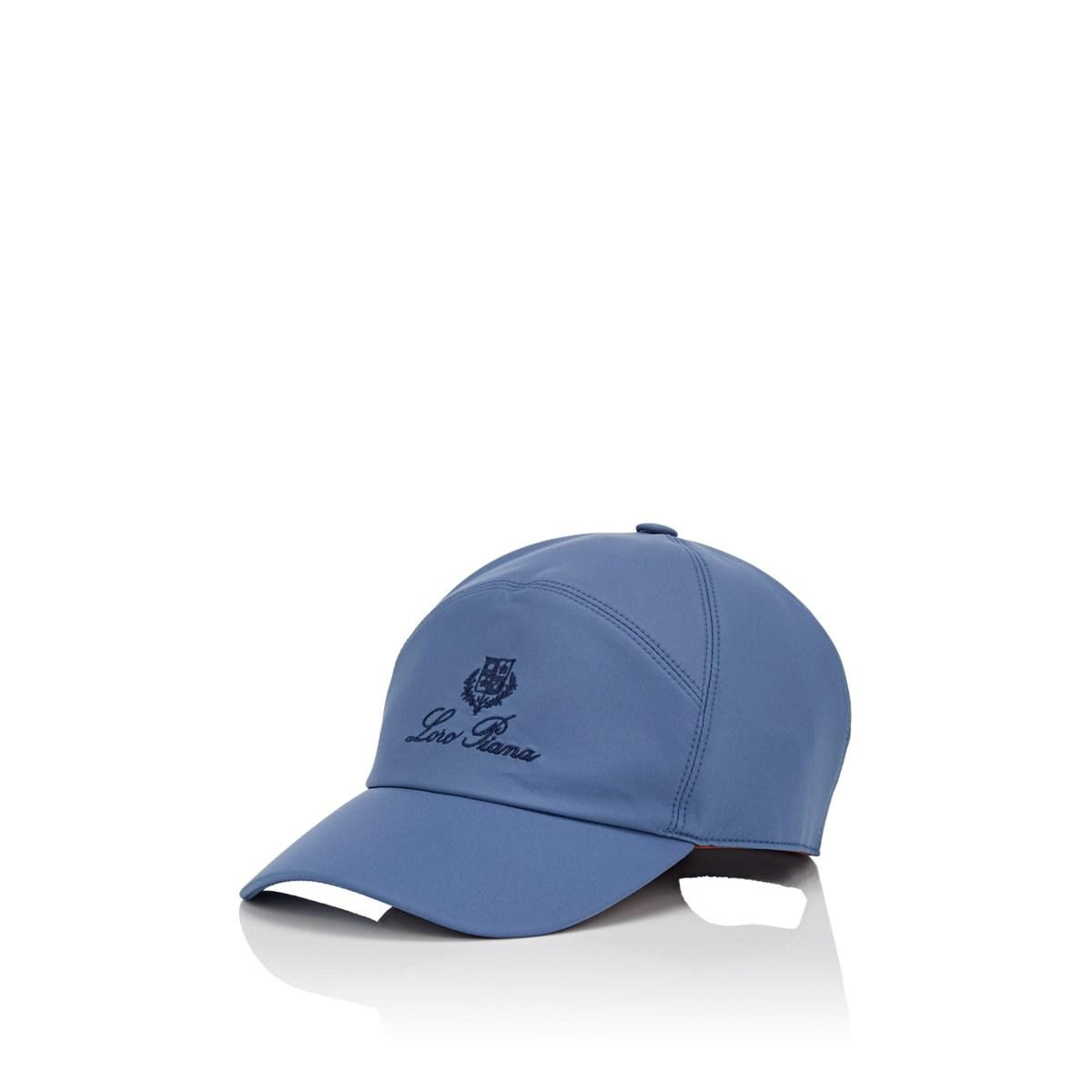 a06ffb8e Lyst - Loro Piana Merlin Ty Logo Baseball Cap in Blue for Men