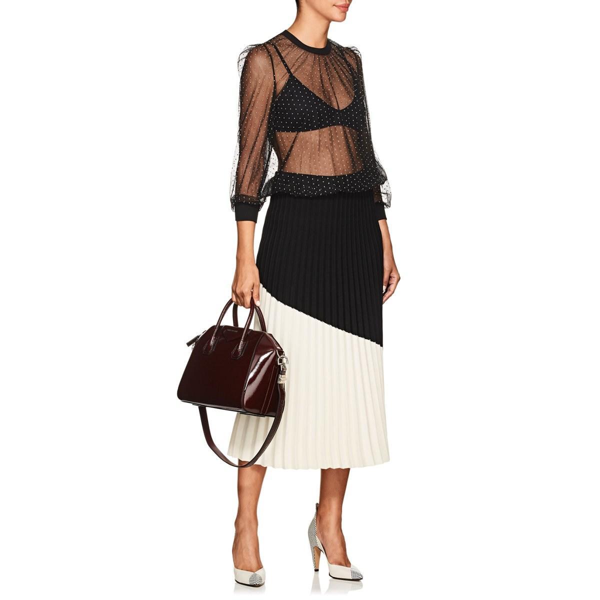 6832f2caf83 Givenchy - Purple Antigona Small Patent Leather Duffel Bag - Lyst. View  fullscreen