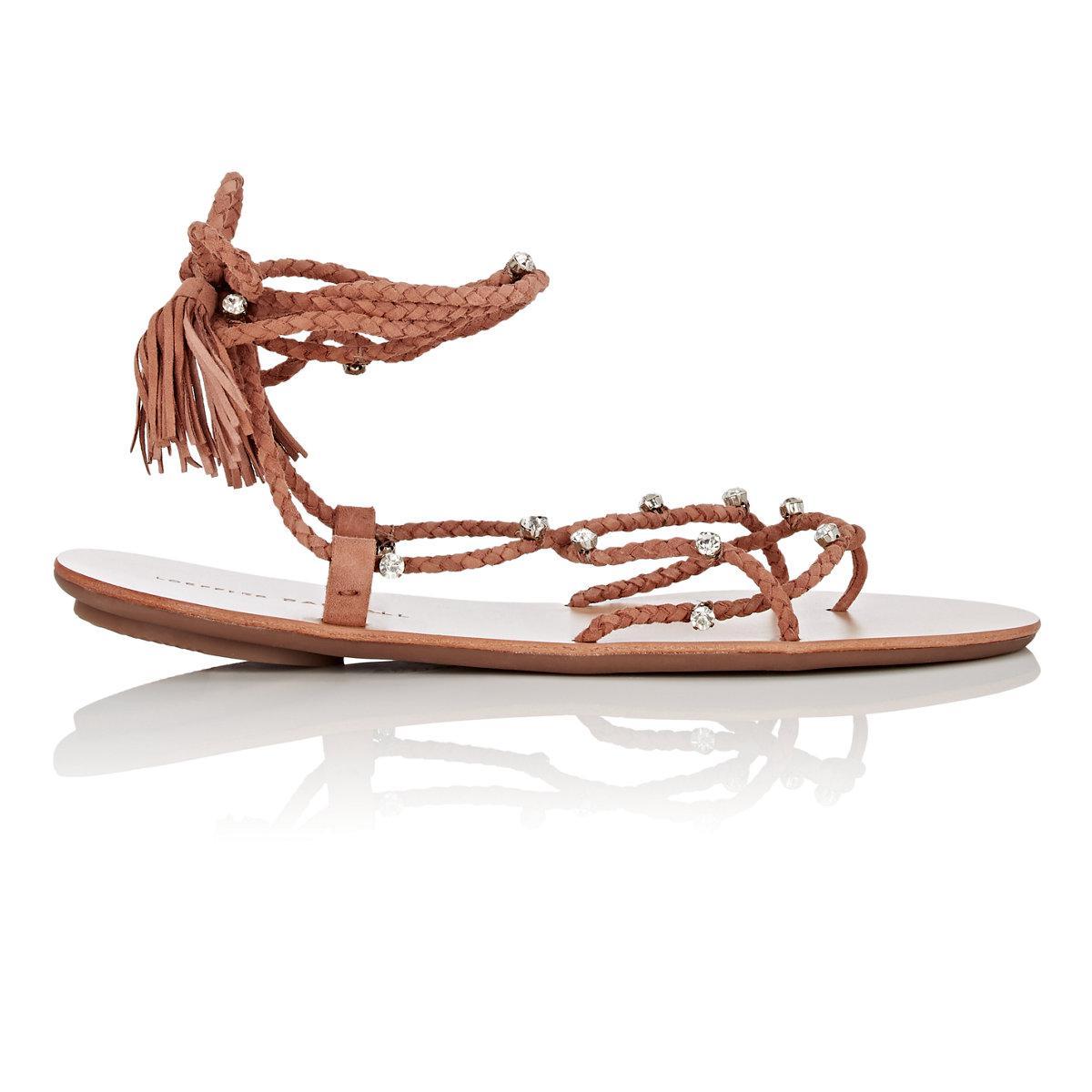 Womens Bo Suede Gladiator Sandals Loeffler Randall 8rjh0