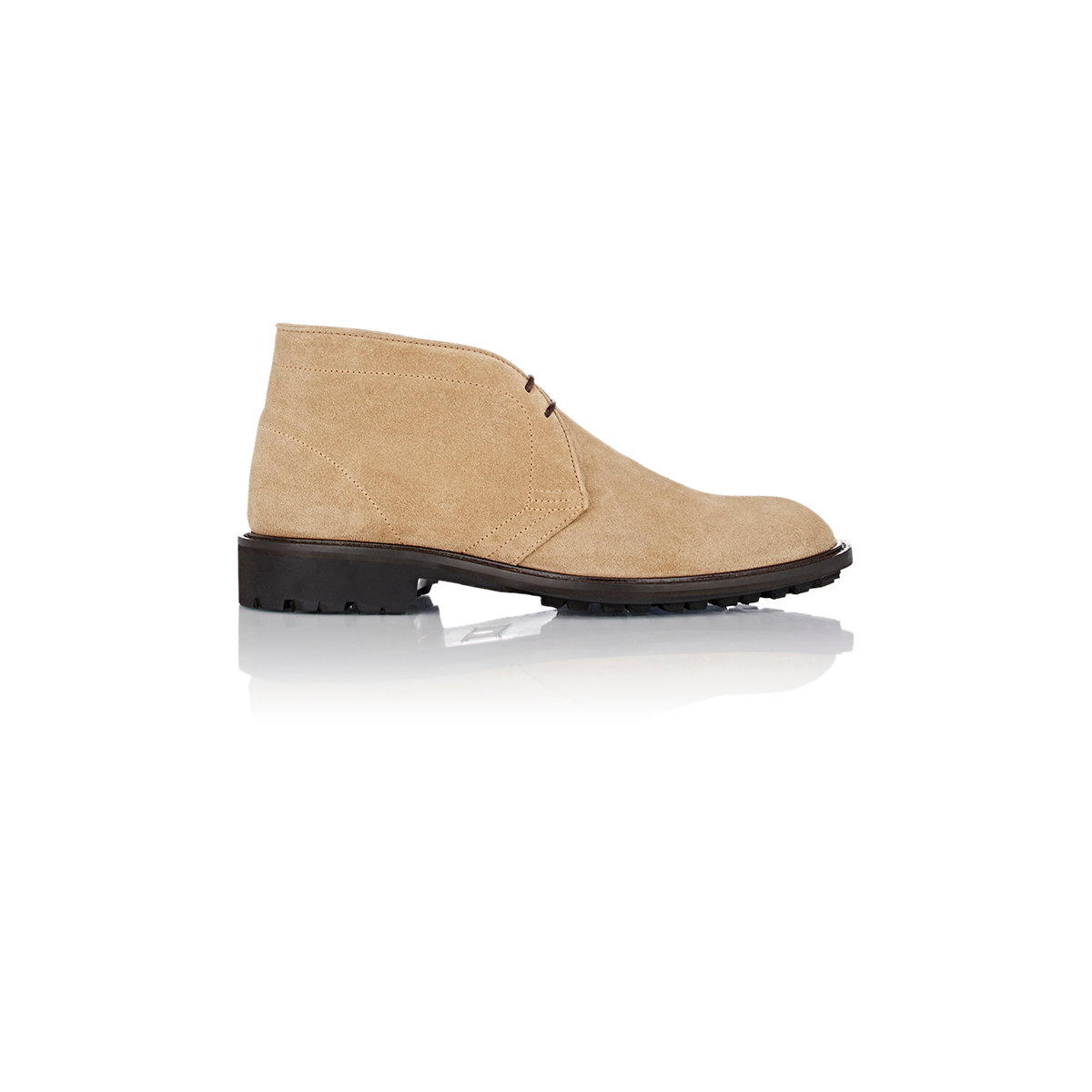 carlo soldaini suede chukka boots for lyst
