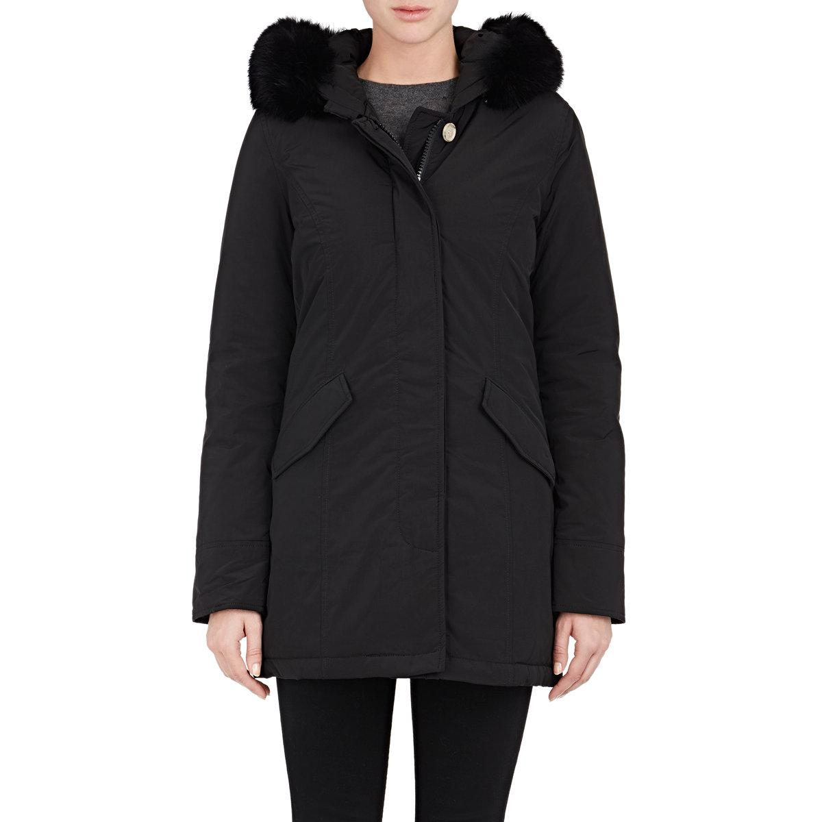 woolrich luxury arctic down parka in black lyst. Black Bedroom Furniture Sets. Home Design Ideas