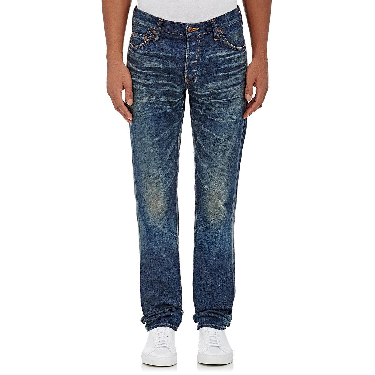 Prps Washed Cotton Jeans in Gray for Men