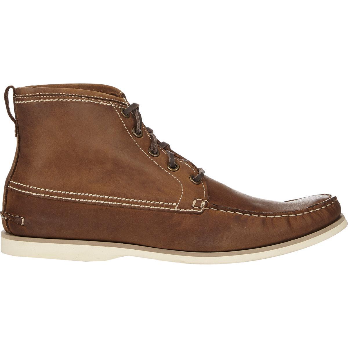 John Varvatos Star Clipper Boots In Brown For Men Lyst