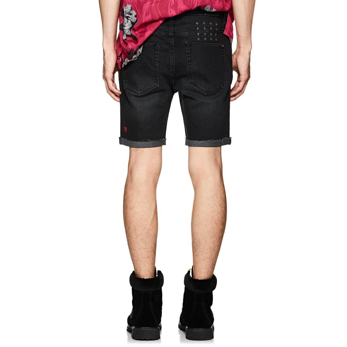 ea095f697652 Lyst - Ksubi Chopper Denim Cutoff Shorts in Black for Men