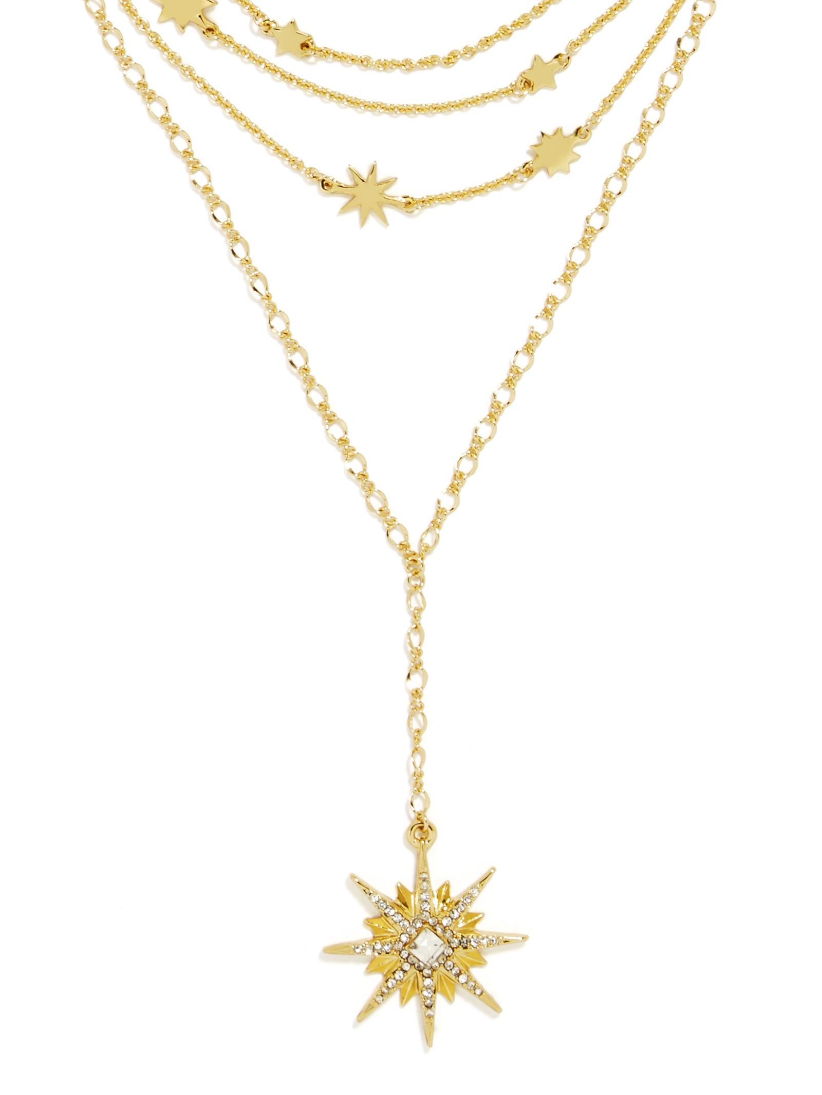 BaubleBar Equinox Choker Necklace in Gold (Metallic)