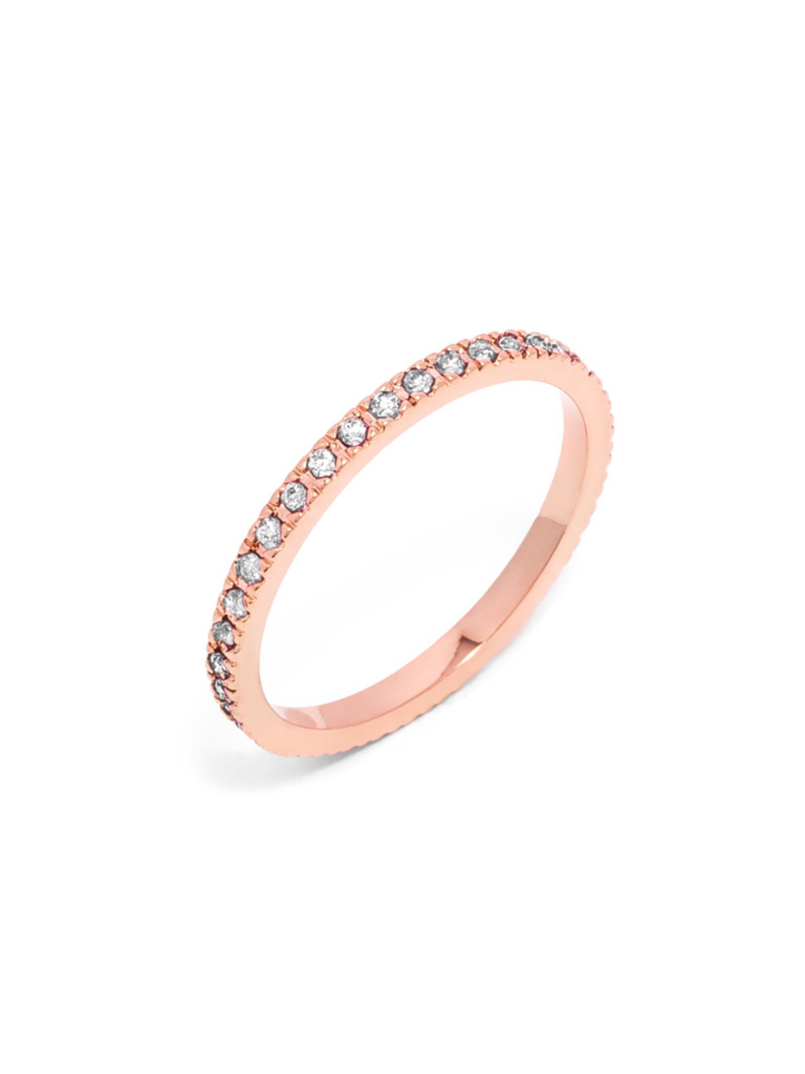BaubleBar Pavé Eternity Ring