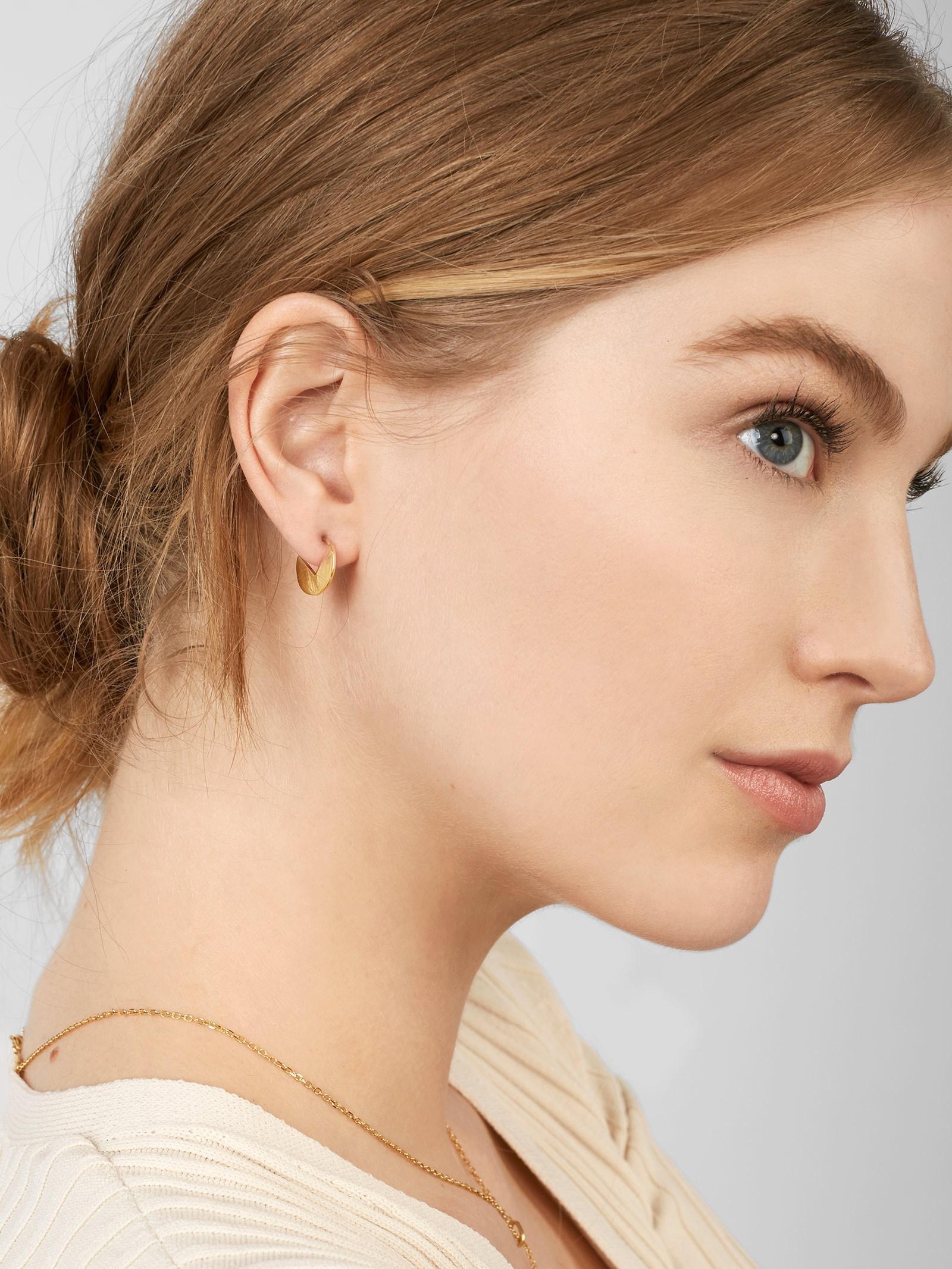 BaubleBar Sfera 18k Gold Plated Earring Duo