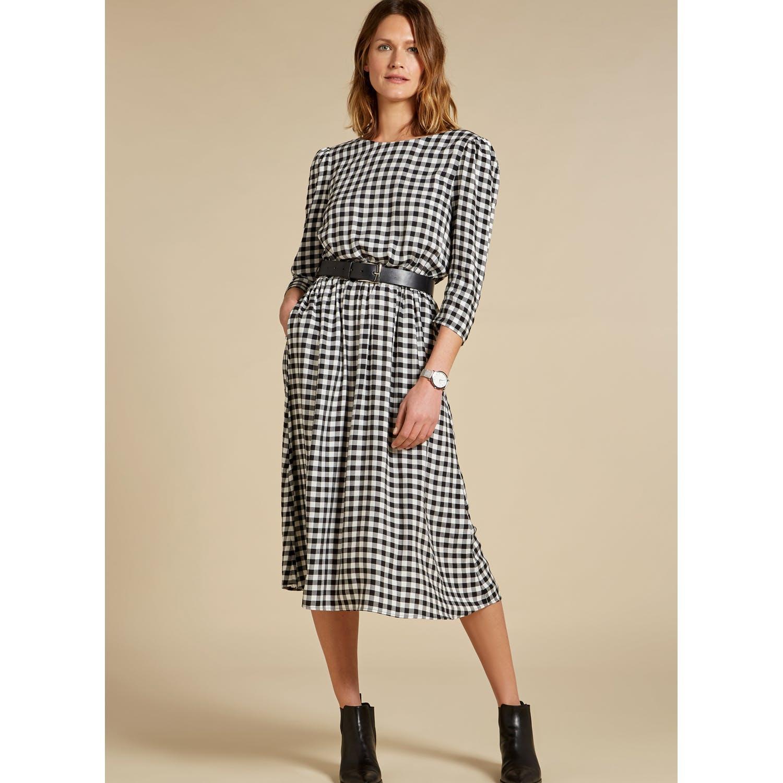 6b61f0bdec52a Baukjen Emi Checkered Dress in Black - Save 1% - Lyst