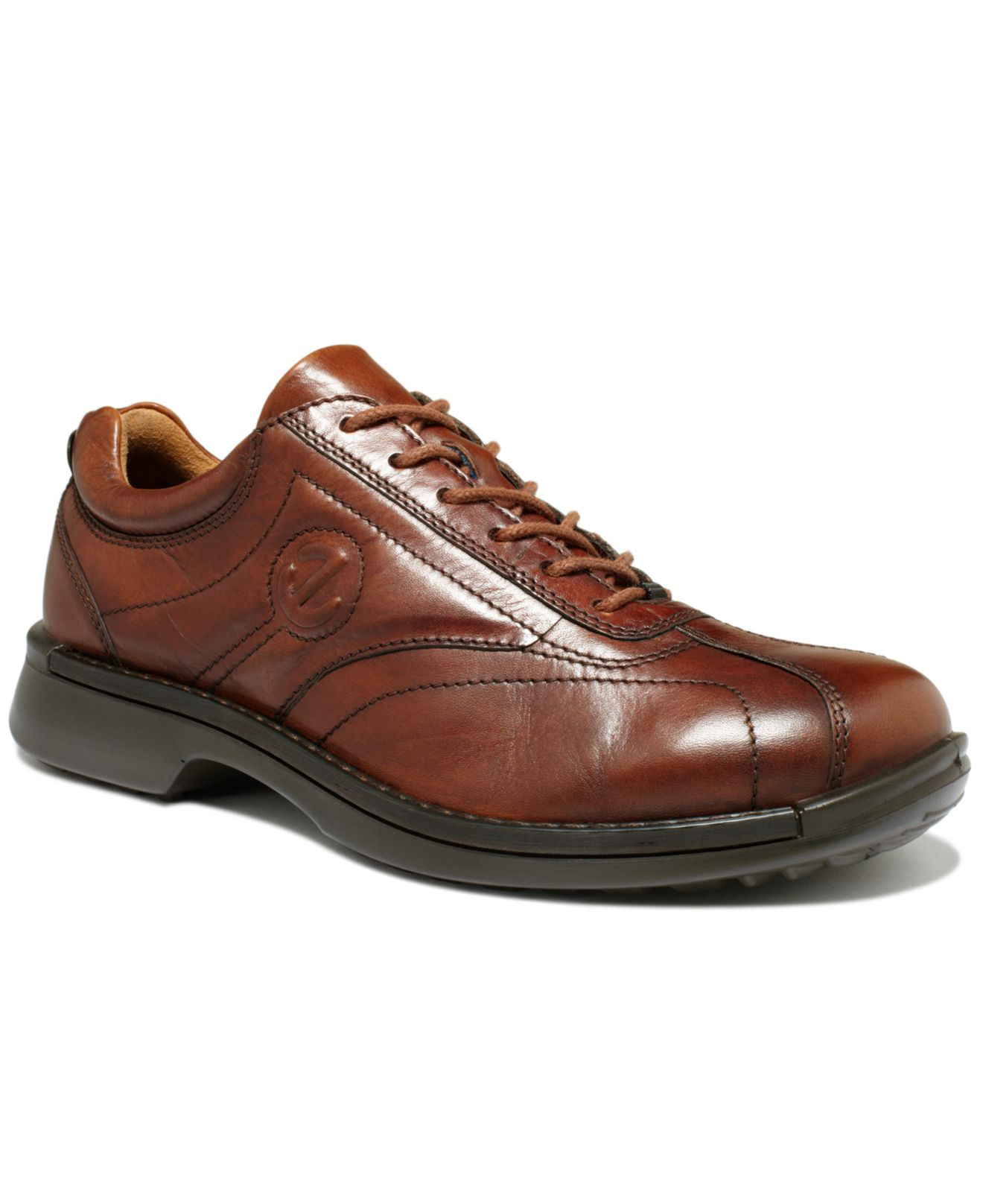 Ecco Neoflexor Lace Shoes In Brown For Men Mink Lyst