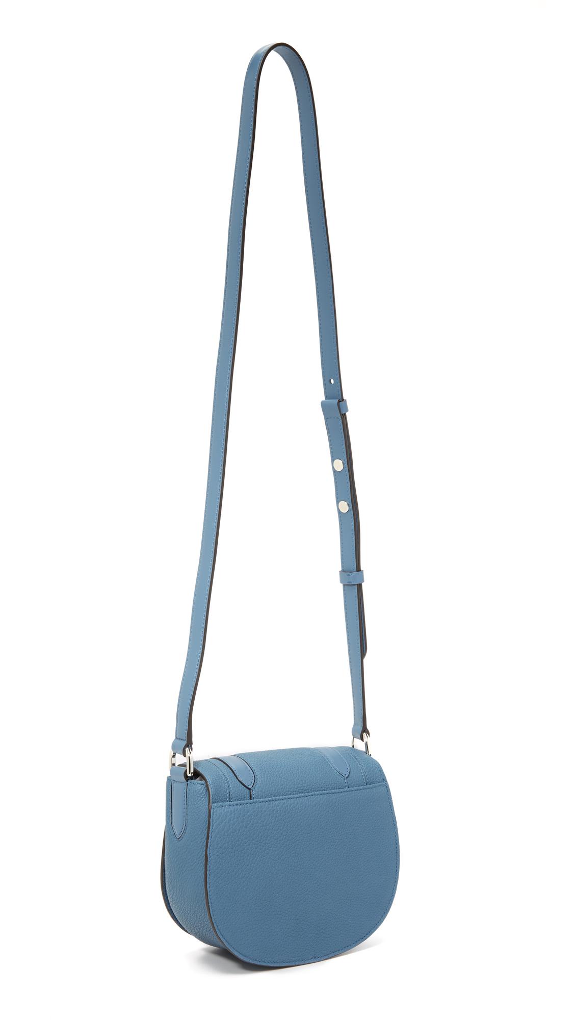 c7f2a7dbf02c Michael Kors Skorpios Small Cross Body Bag in Blue - Lyst