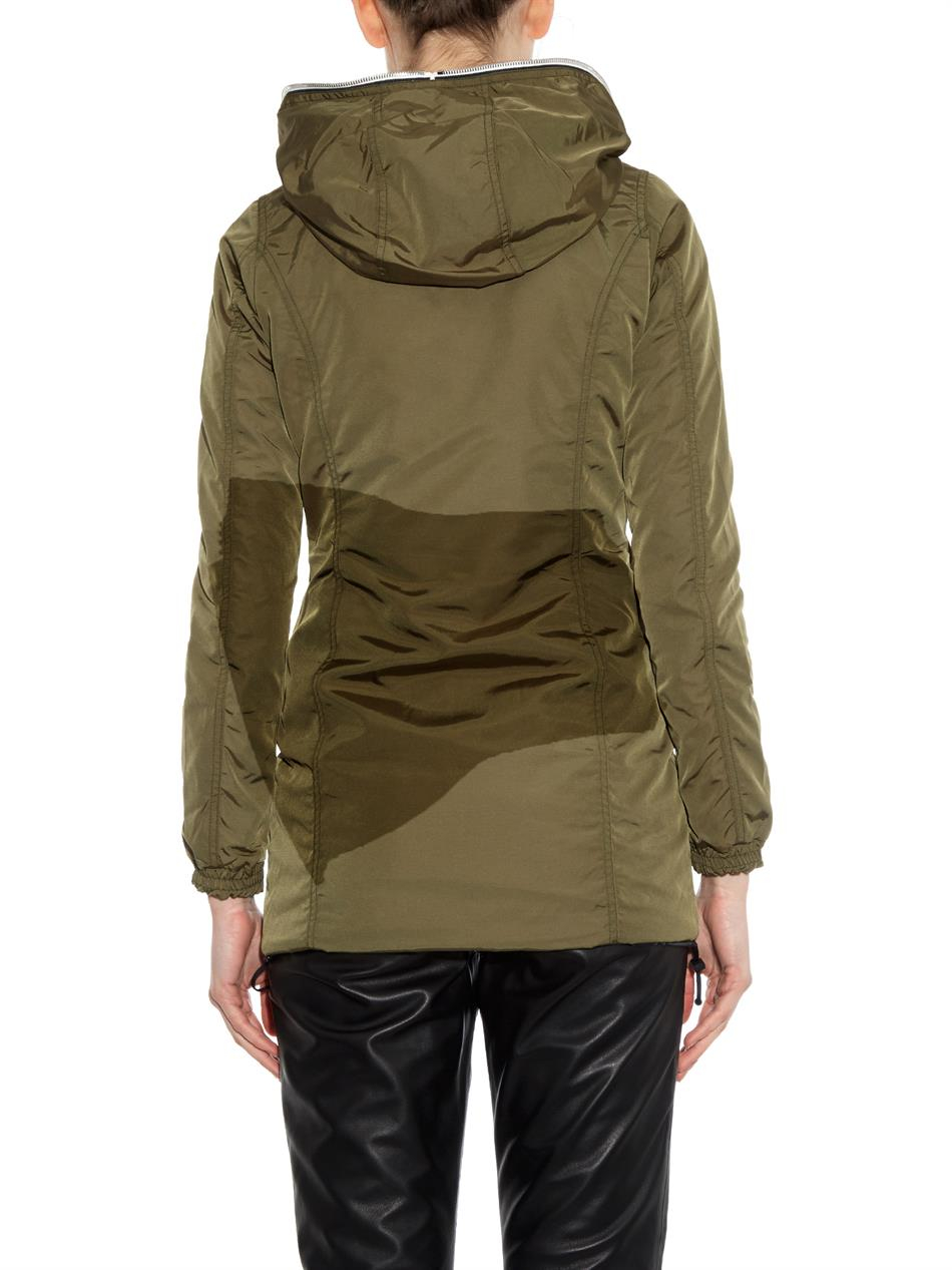 Duvetica Trigedue Quilted Down Jacket In Green Lyst