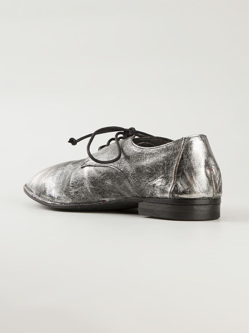 lace-up shoes - Metallic Mars eeZF92oVL