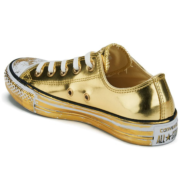 Converse Women S Chuck Taylor All Star Chrome Leather Ox