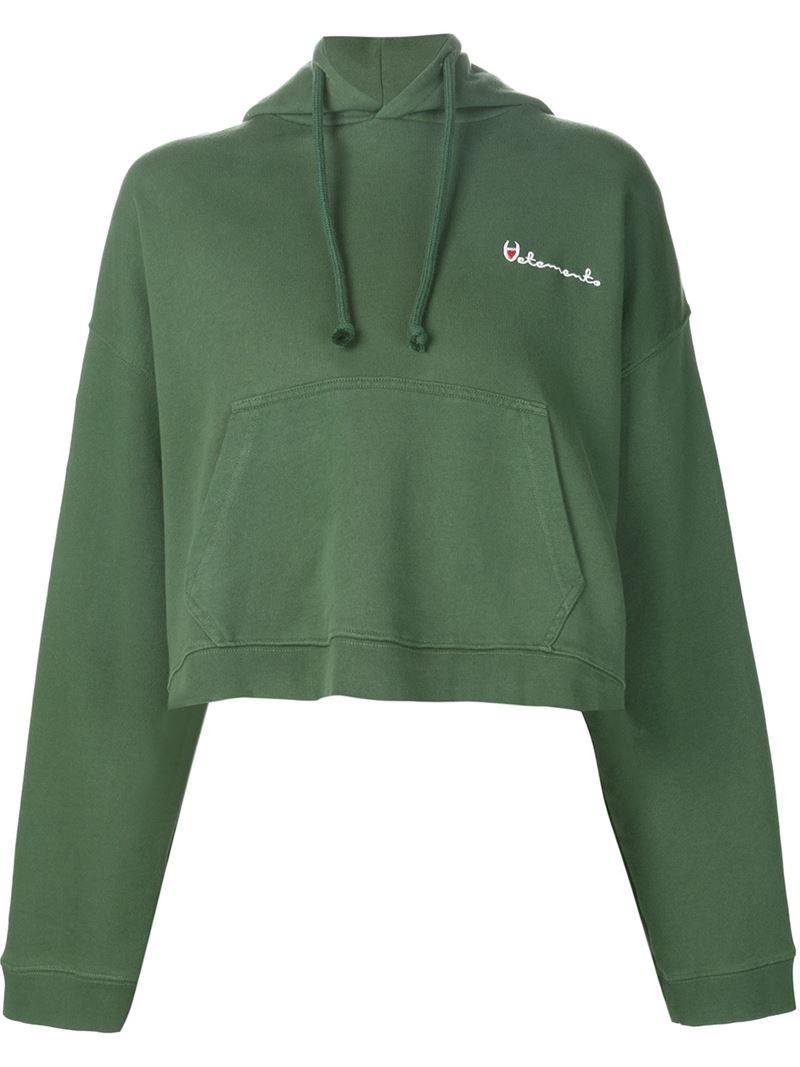 Neon Green Zip Up Cropped Hoodie - @megancskerritt   Storm ...  Green Cropped Hoodie