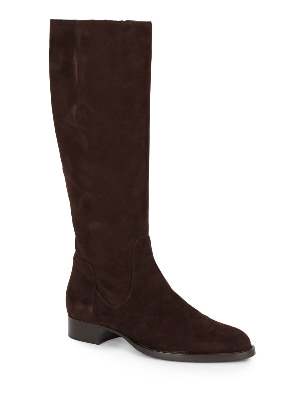 aquatalia by marvin k gabor suede boots in brown espresso