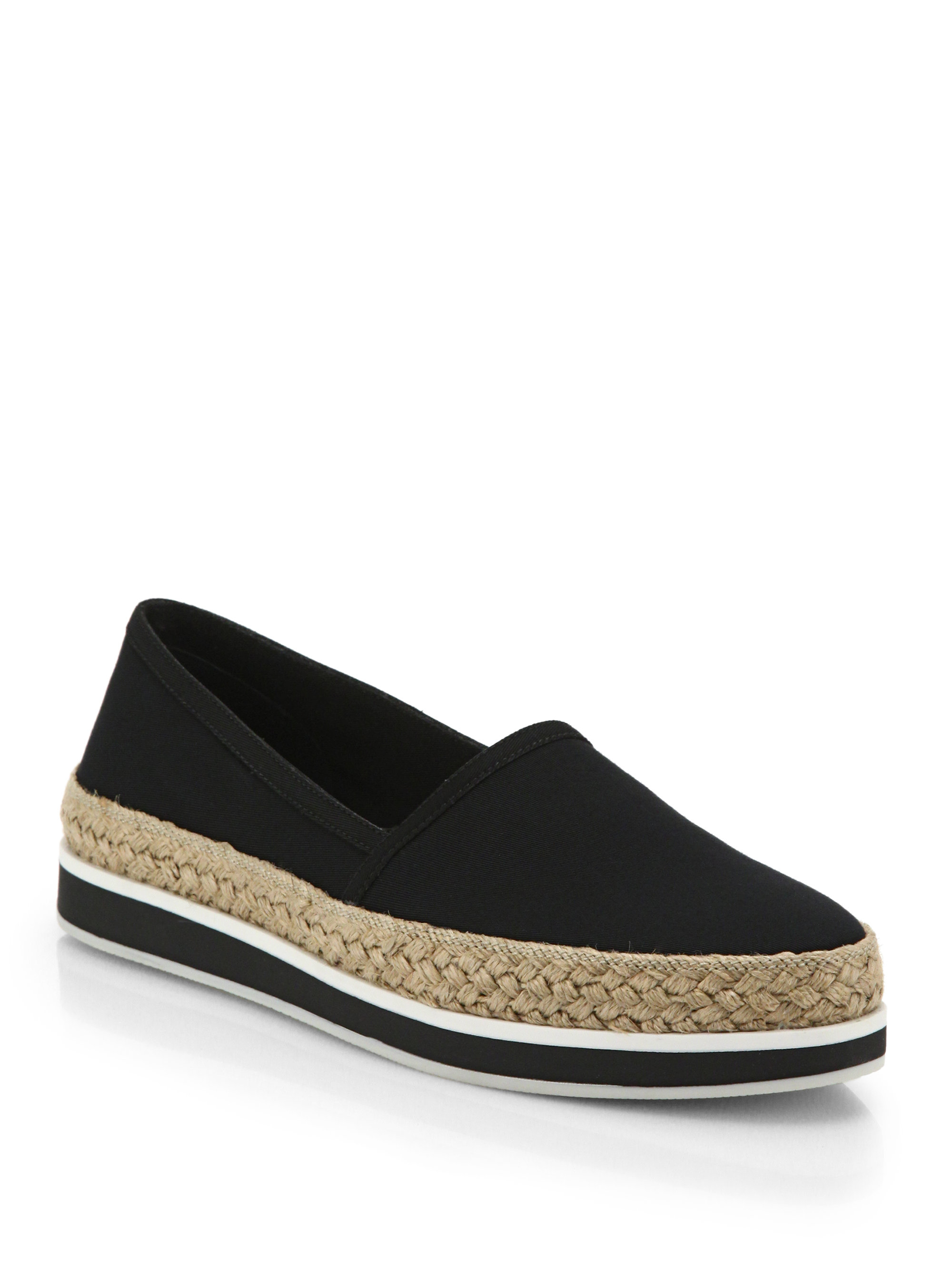 best store to get sale online Prada Suede Espadrille Flats visit new cheap price e18FgMNYB
