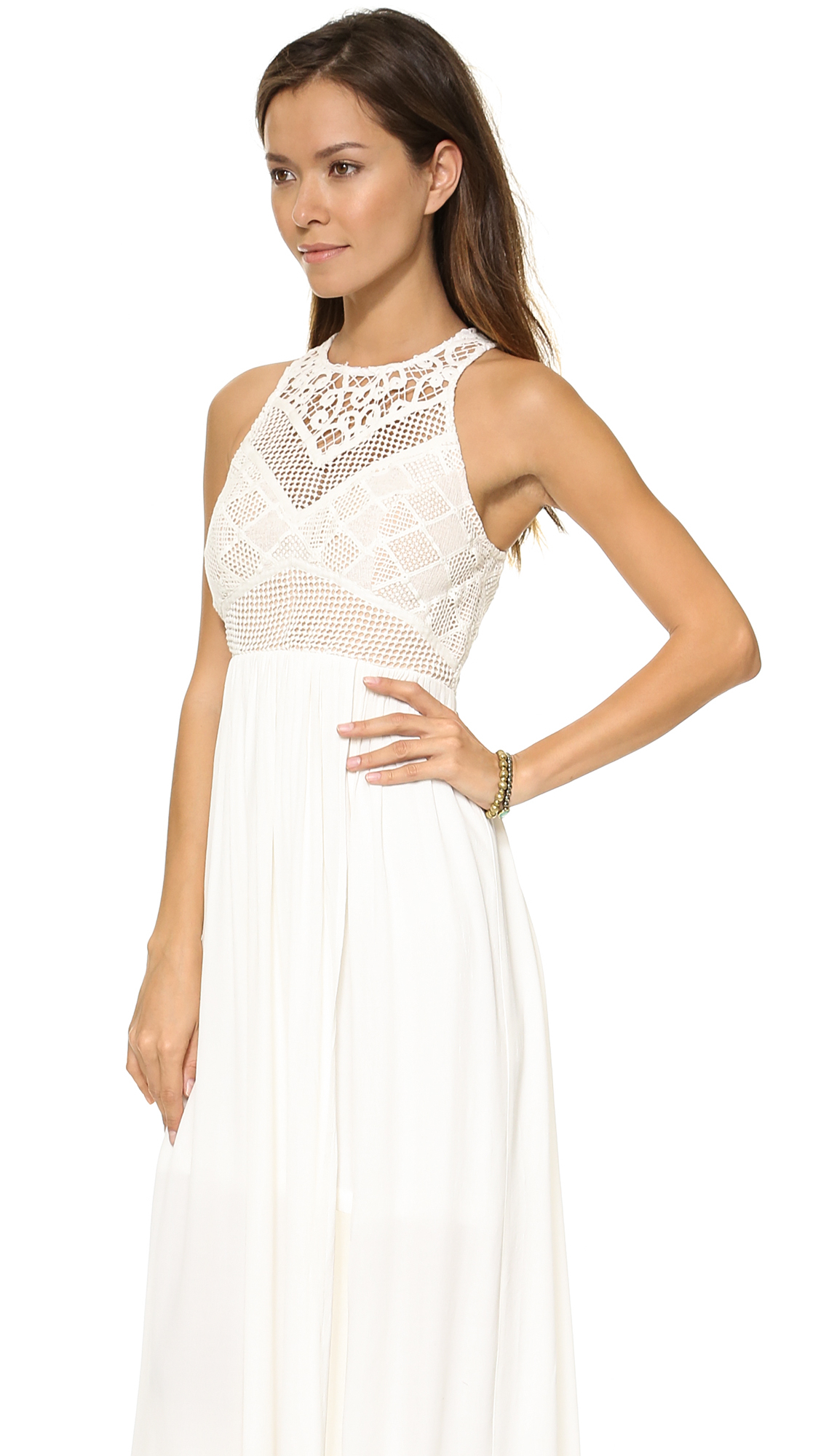 Blessed are the meek Endless Summer Maxi Dress - Ivory in White  Lyst