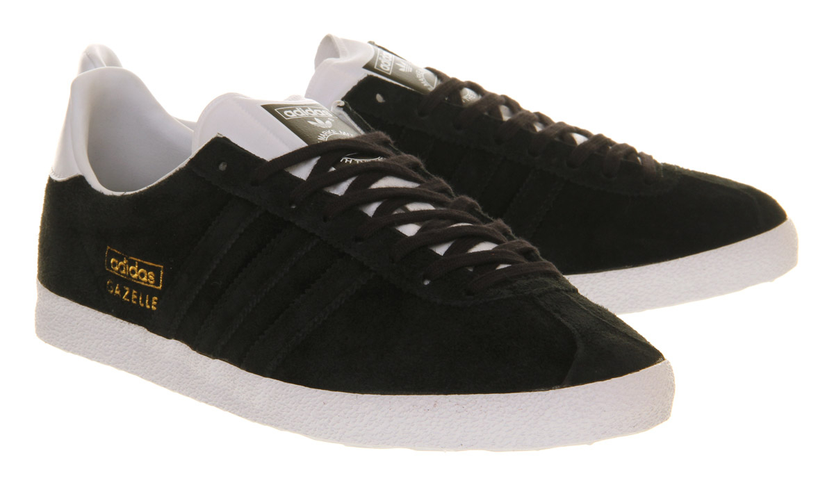 best sneakers 306ed a8bb3 Lyst Lyst Lyst Black In Adidas Mono Og White White White Gazelle Run For  Men qxEAzS