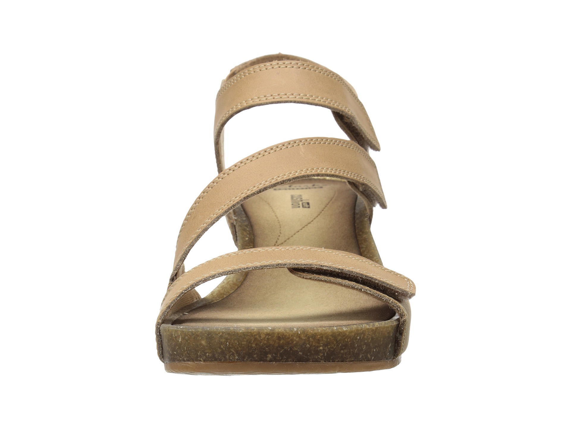 4b8302a3ad8 Lyst - Clarks Orient Sea Leather Sandals in White