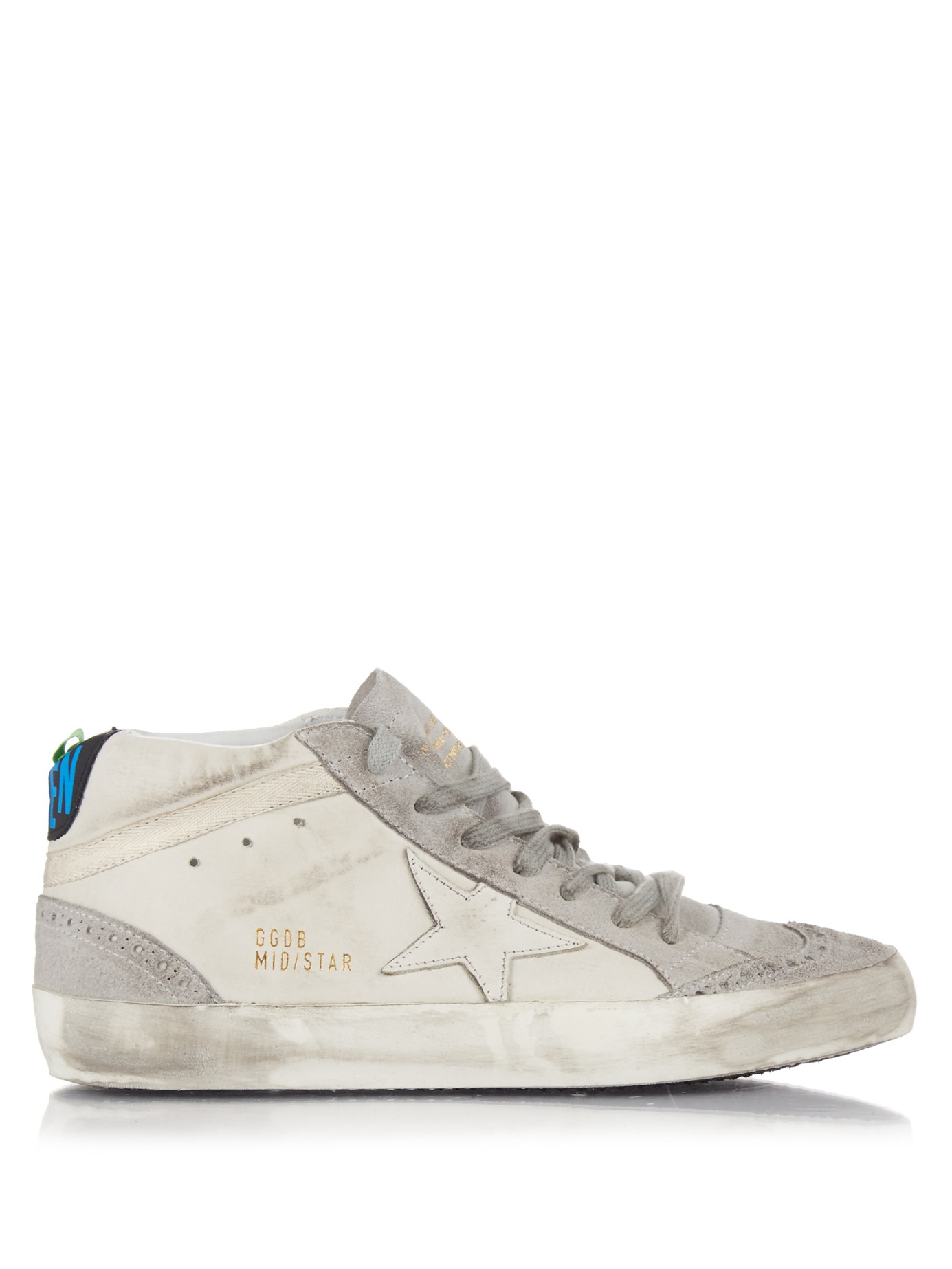 Midstar leather and suede trainers Golden Goose qT9RG1c