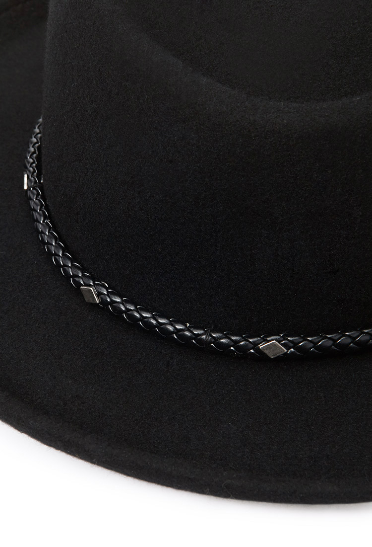 e54c2ddd27923 Forever 21 Braided Band Bolero Hat You've Been Added To The Waitlist ...