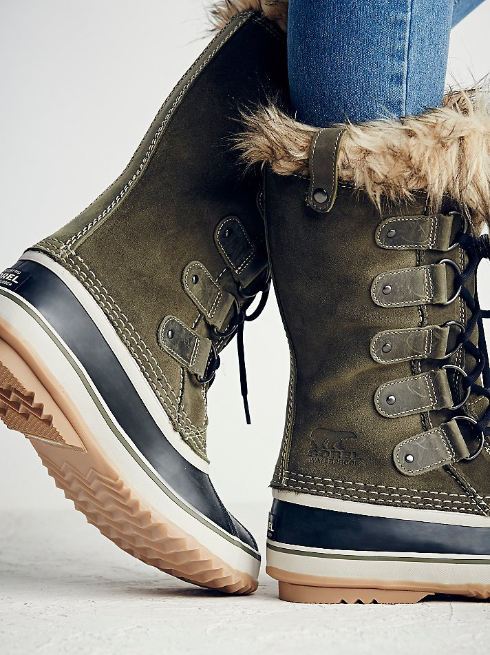 Lyst Free People Joan Arctic Weather Boot In Gray