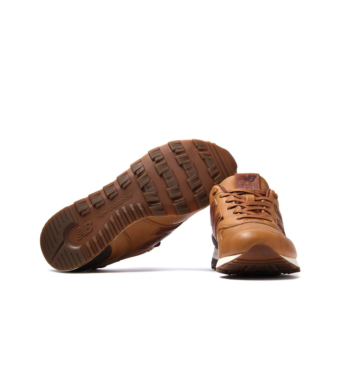 Made In The Usa 1400 Brown Leather Trainers