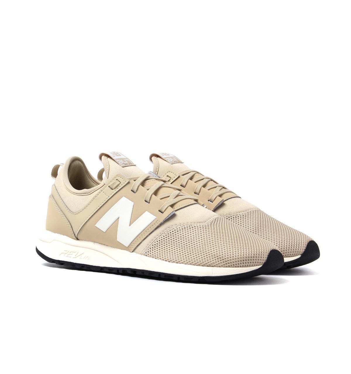 Men's Natural 247 Beige Sneakers