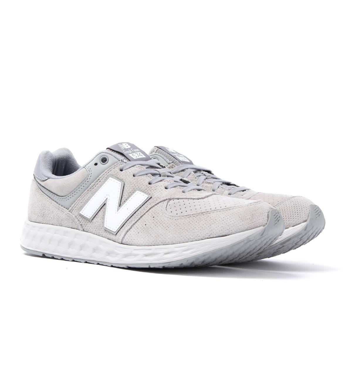 Lyst - New Balance 574 Light Grey Fresh Foam Trainers in Gray for Men c9c047915ef79