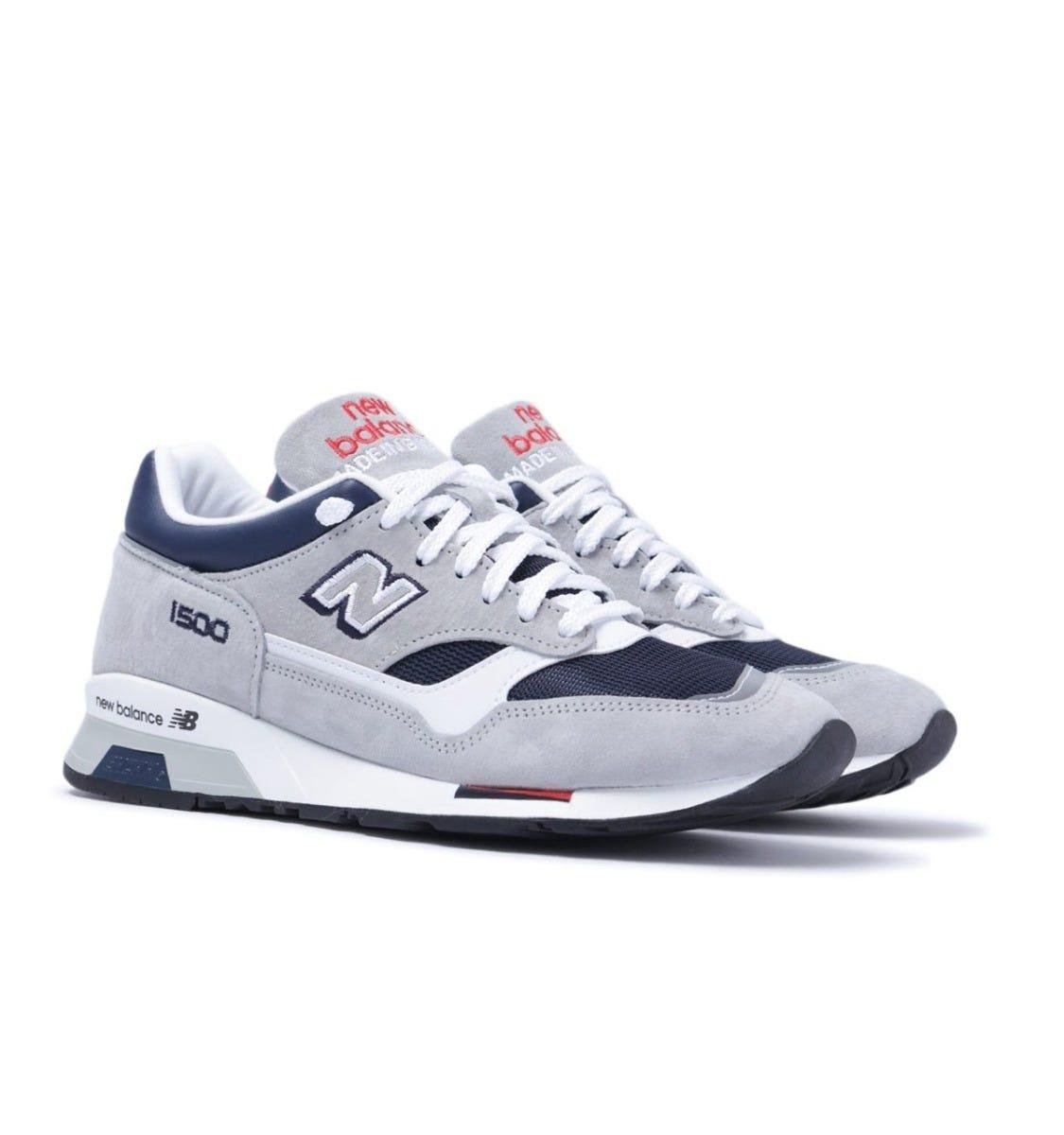 M1500 Made In England Grey/blue Trainers