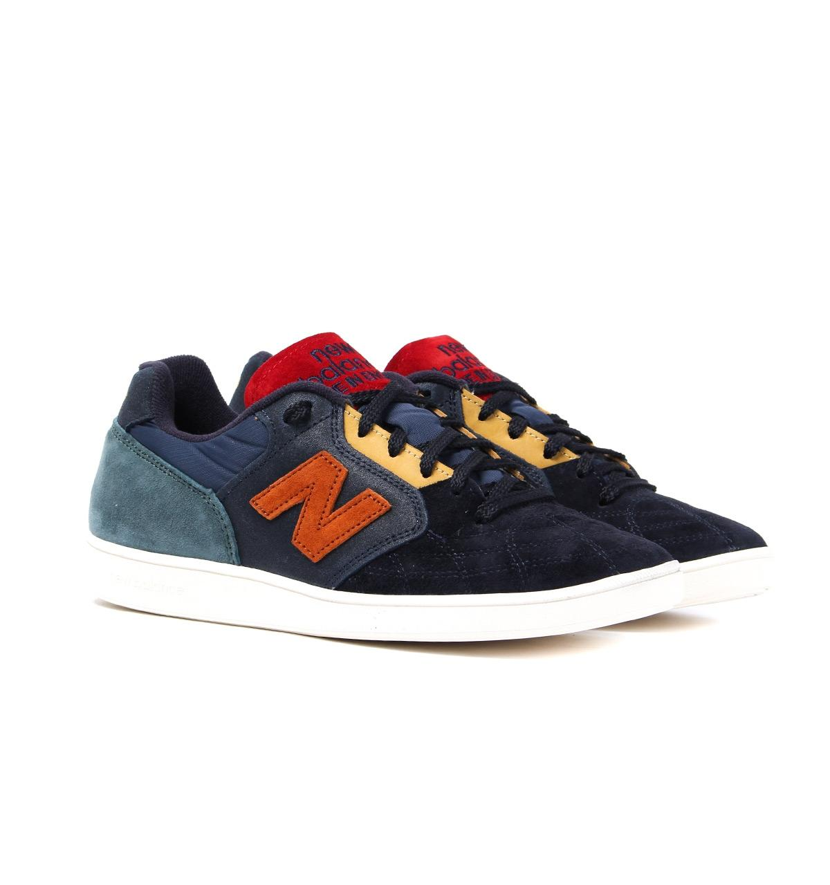 New Balance Suede Epic Tryp Navy & Orange Made In England Trainers ...