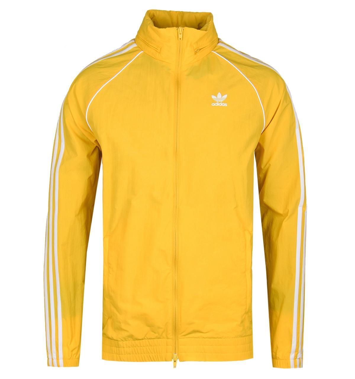 e6a4cff02 Adidas Originals Yellow Sst Windbreaker Jacket for men