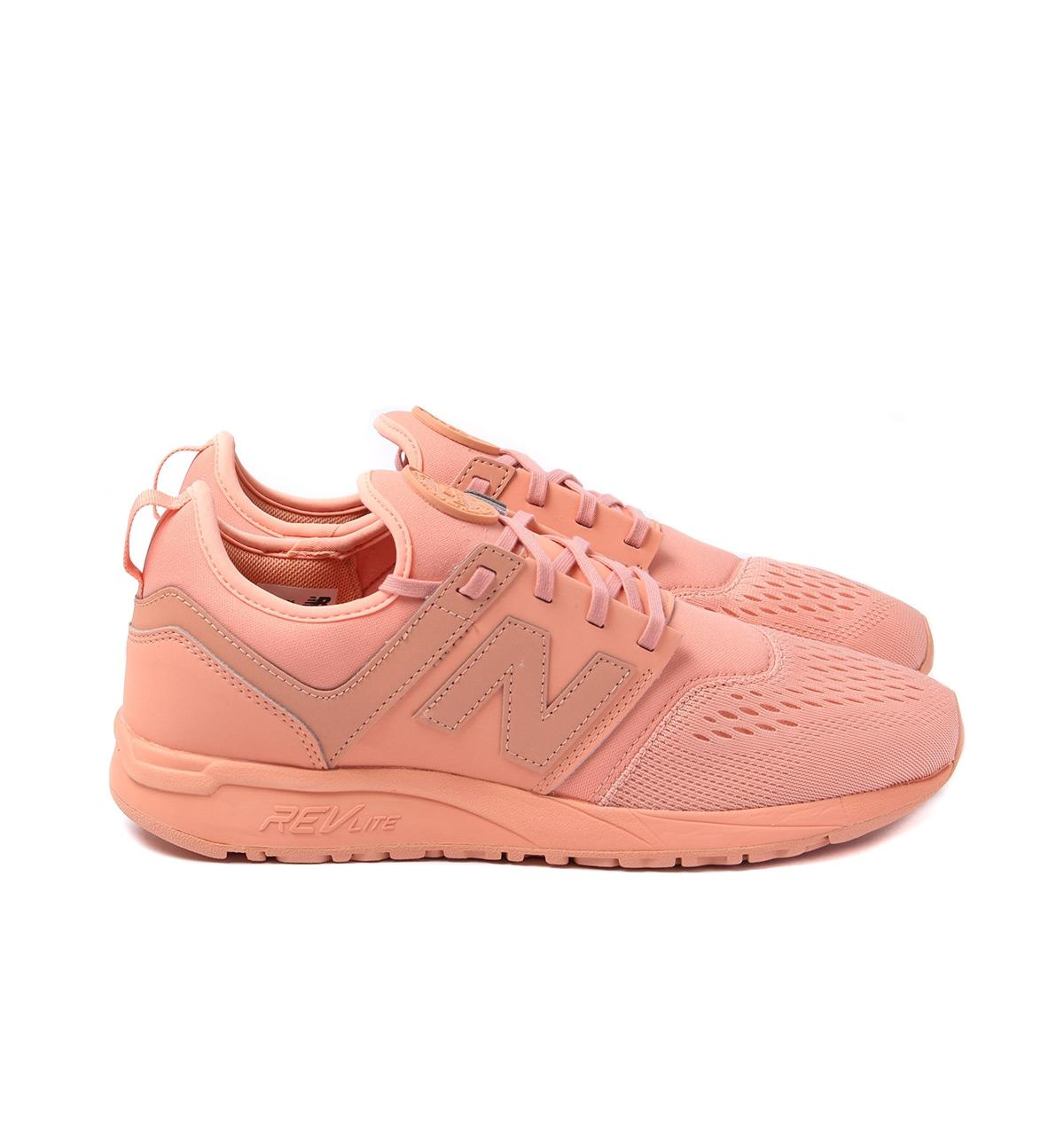 brand new b7df7 c0693 New Balance 247 Salmon Trainers in Pink for Men - Lyst