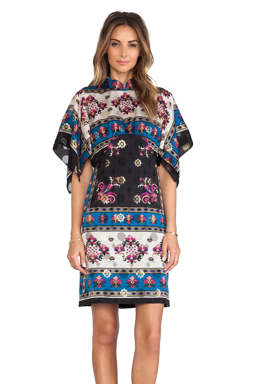 Anna Sui Babushka Print Tank Dress Lyst