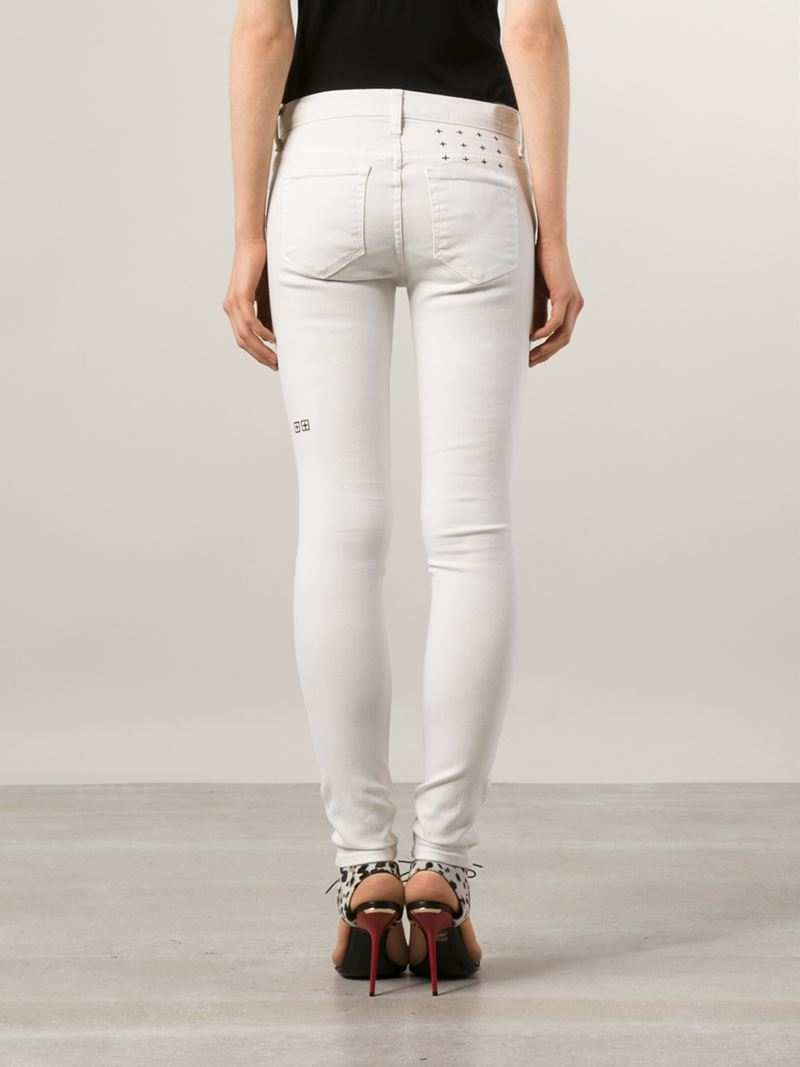 best reputable site outlet store Ripped Skinny Jeans