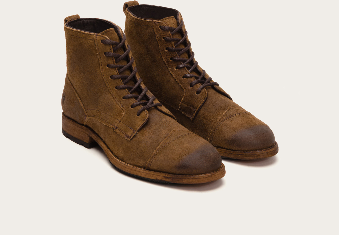 90a87b87521d1 Frye Brown Everett Lace Up for men
