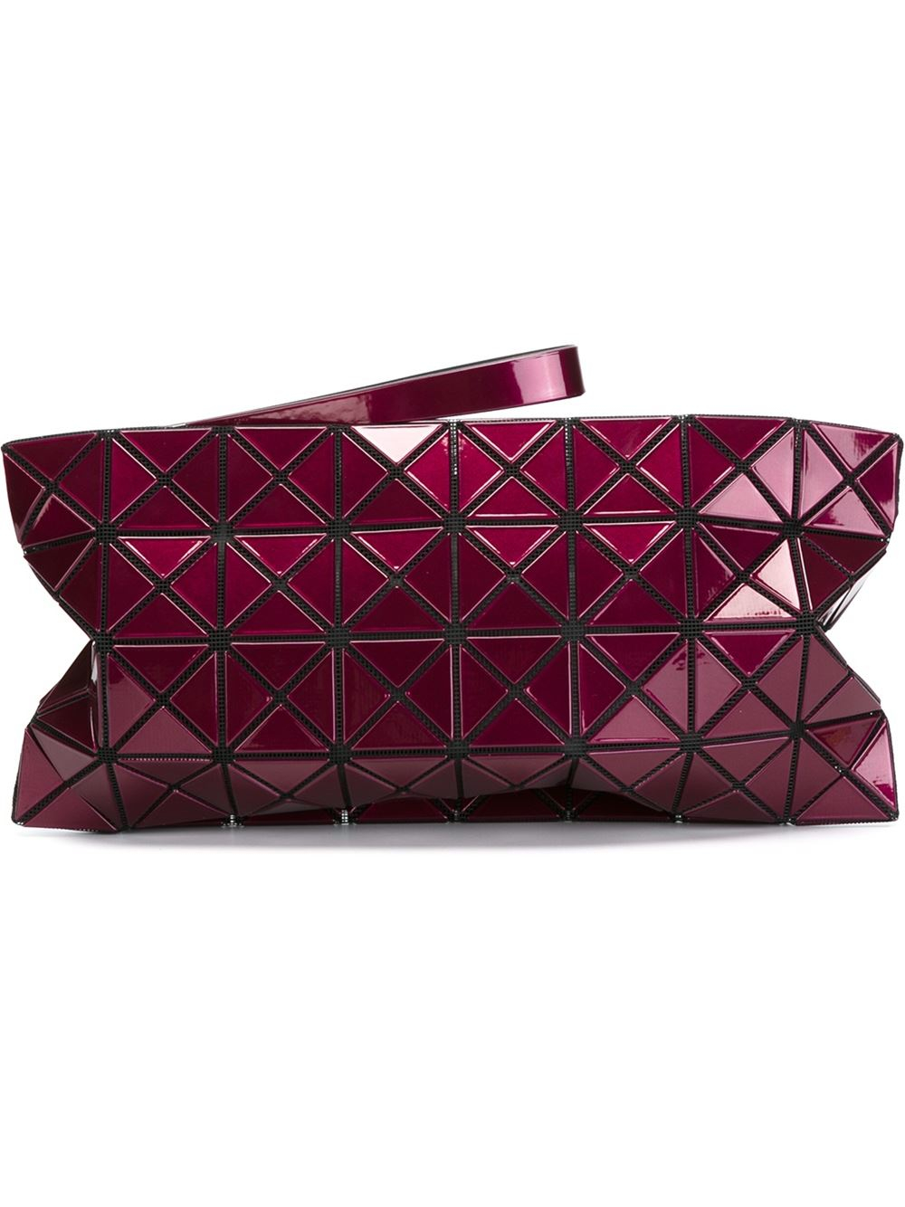 Bao bao issey miyake Lucent-2 Clutch in Pink (PINK/PURPLE ...