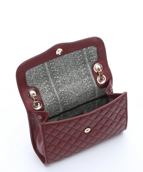 Lyst Rebecca Minkoff Burgundy Leather Quilted Affair Mini