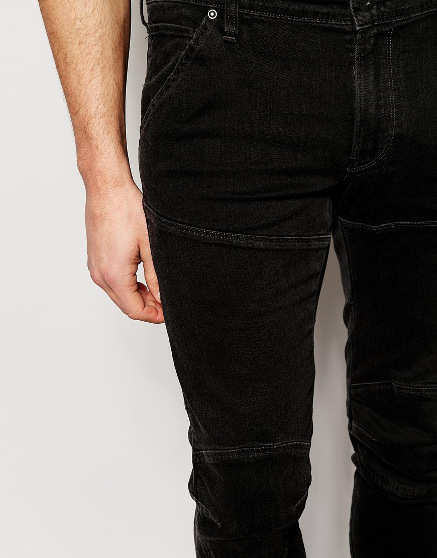 lyst g star raw jeans elwood 5620 3d super slim stretch. Black Bedroom Furniture Sets. Home Design Ideas