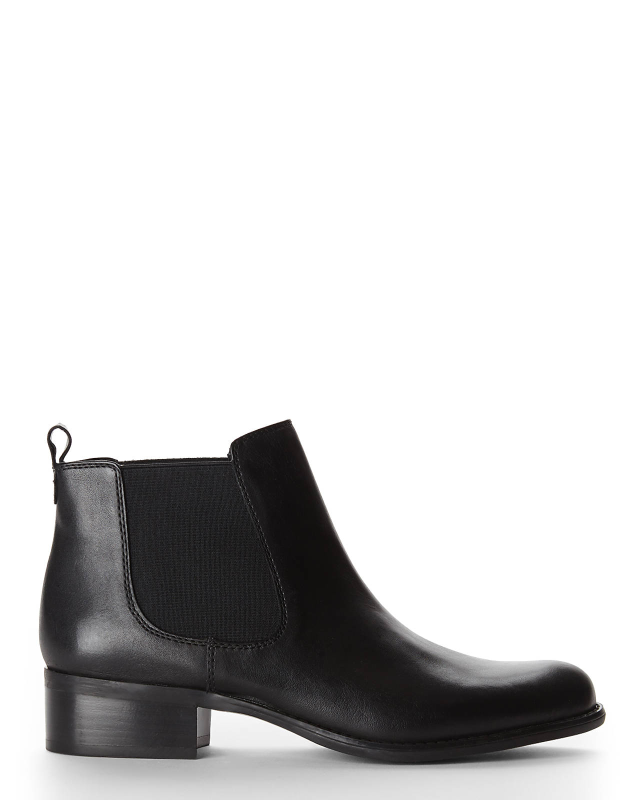 Lyst Franco Sarto Black Cambridge Chelsea Boots In Black